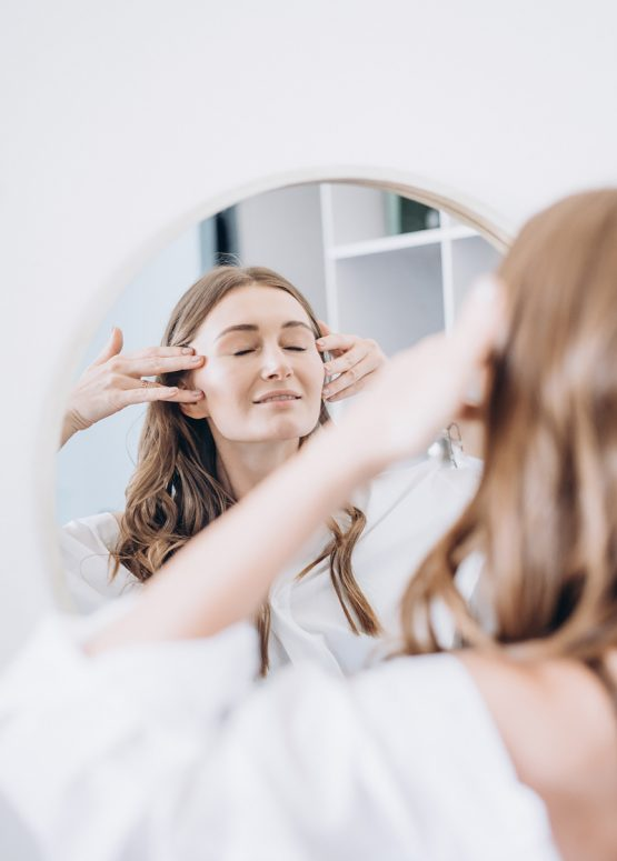 Routine Yoga visage